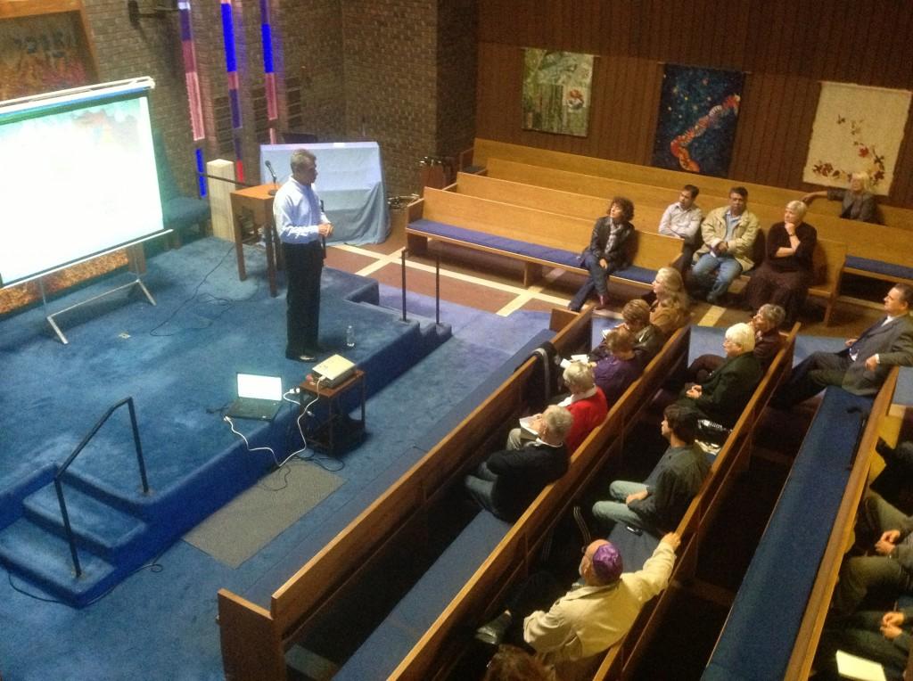 Avi Melamed Speaking at Beth Israel Synagogue Oct 21