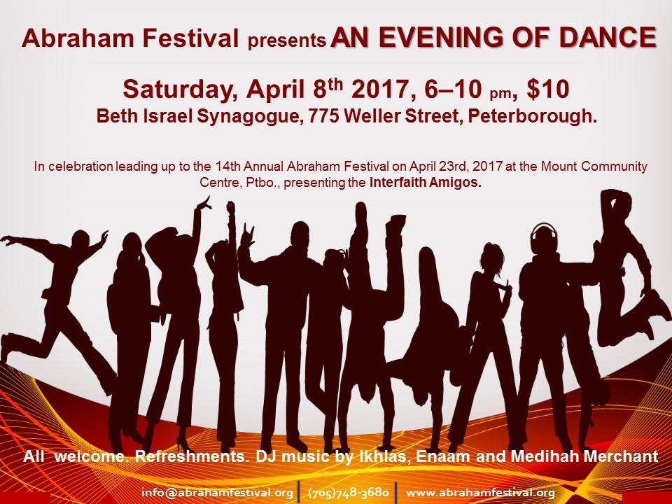Abraham Festival Dance April 8th